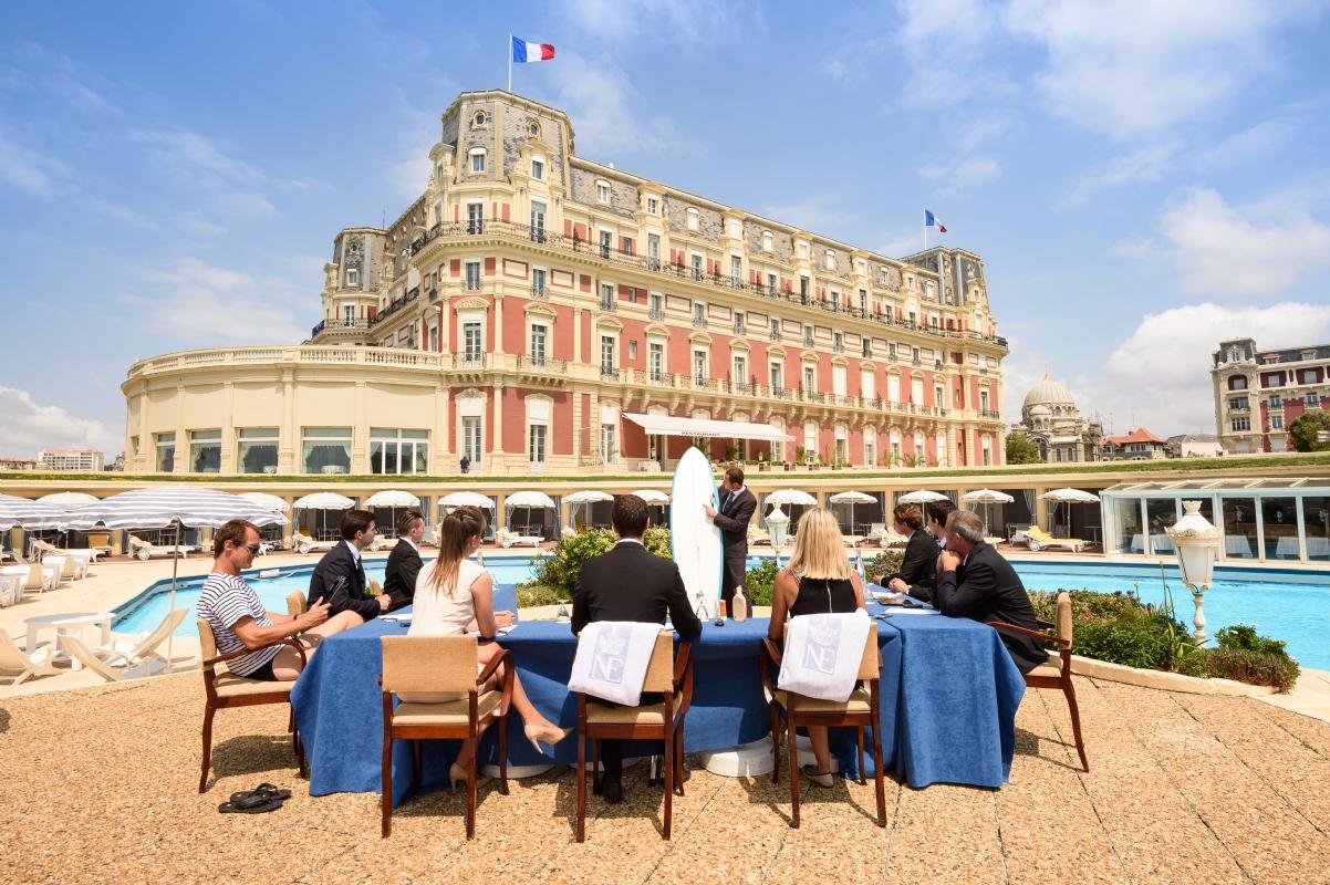 Un s minaire relaxant de l h tel du palais location de - Prix chambre hotel du palais biarritz ...